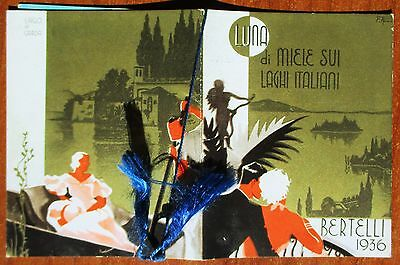 CAMPOBASSO - CALENDARIETTO PROFUMATO - ANNO 1936 - BERTELLI - CALENDARIO