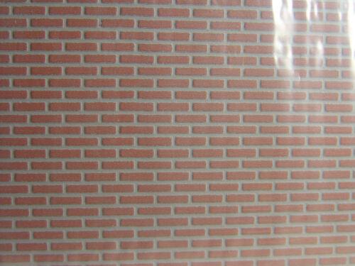 2 plaques 40x20 cm Heki Piste 0 u.1-72252 #e Clinker mur prix 1qm = € 93,75