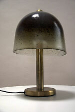 große elegante Pilzlampe Tischlampe/Bodenlampe Peill Vistosi Ära