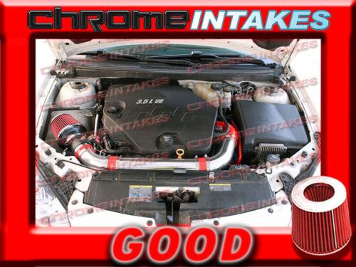 RED 07 08 09 10 11 CHEVY MALIBU//PONTIAC G6 3.6 3.6L V6 FULL AIR INTAKE KIT