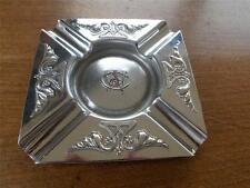 Art Nouveau Joseph Sankey JS & S Silver Plate on Copper Ashtray CW & Co Monogram