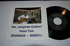 "7""/PETER TÜRK/GRANADA/MAMMA/DER SINGENDE OPTIKER/WORRIED MEN SKIFFLE GROUP/NM"