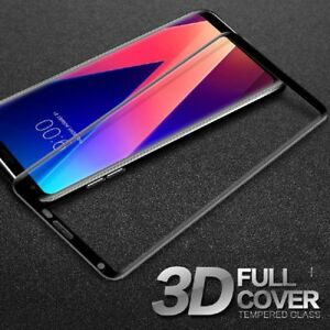 Tempered-Glass-Screen-Protector-For-LG-V30-Plus-Full-Cover-3D-HD-Anti-scratch