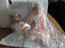Heritage Signature Collection Porcelain Dolls Piper & Paige