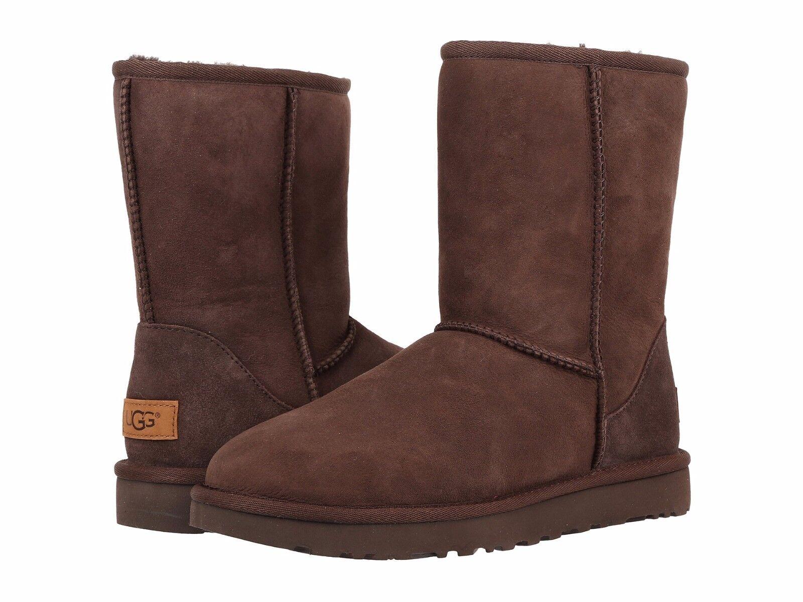 Chaussures pour femmes UGG Classic Short II Boots 1016223 Chocolate 5 6 7 8 9 10 11 * Nouveau *