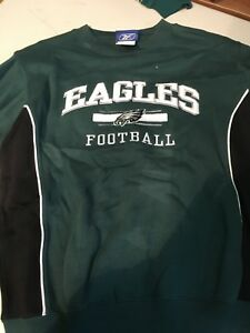 d8ee1a27 Details about PHILADELPHIA EAGLES FOOTBALL NFL YOUTH EMBROIDERED SWEATSHIRT  FREE SHIPPING