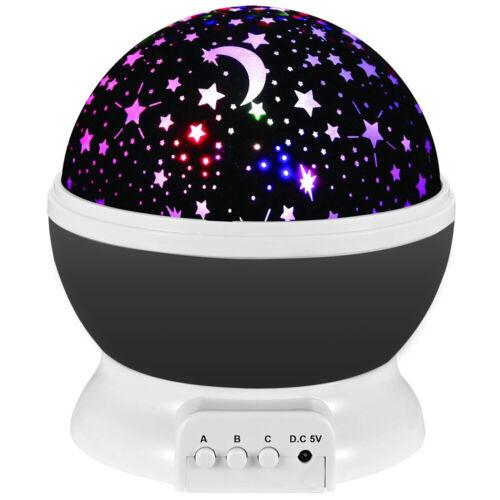 LED Sternenhimmel Projektor Lampe Nachtlicht Kinder Dekor Geschenk Galaxy Sterne