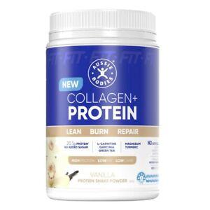 Aussie Bodies Collagen+ Vanilla Protein Shake Powder 360g