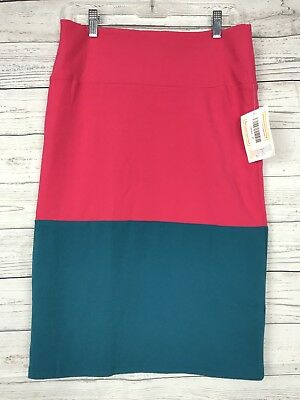 Women's Clothing Helpful Lularoe Women's Color Block Textured Cassie Pencil Skirt Size M Medium New Nwt Reputation First Clothing, Shoes & Accessories