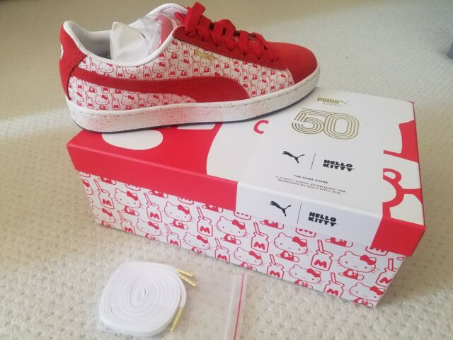 a097dce46 NIB RARE PUMA x HELLO KITTY Suede Shoes Sneakers IN HAND FREE SHIP, 7-