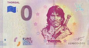 BILLET-0-EURO-THORGAL-BD-FRANCE-2019-NUMERO-4500