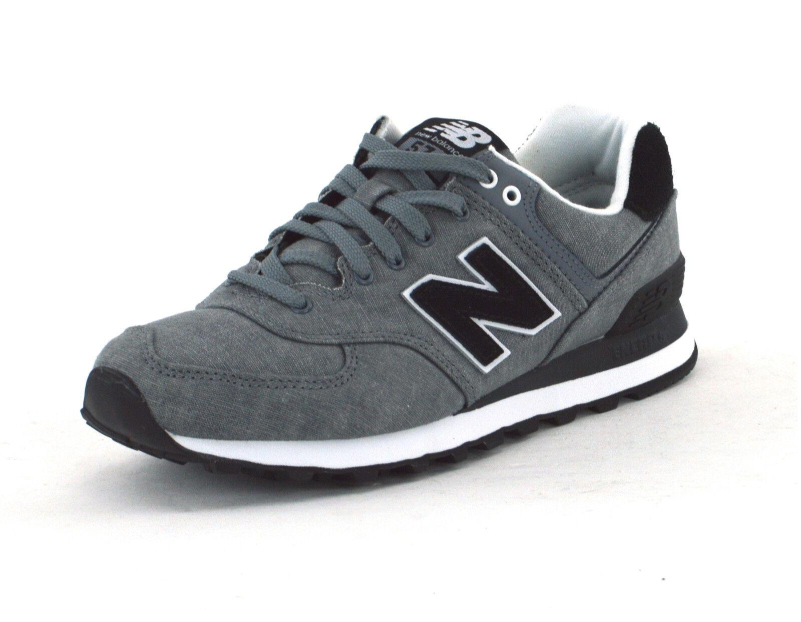 New balance 574 Gunmetal-WL574SWC-Zapatillas de mujer-nuevo