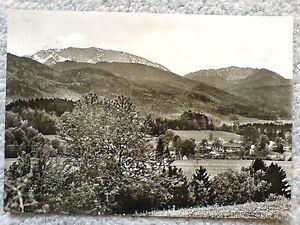 1-alte-AK-Deutschland-Bad-Heilbrunn-Fernblick-mit-Benediktenwand-gelaufen-1957