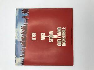 IL '68 disco 45 giri Voci e storia di quell'anno incredibile