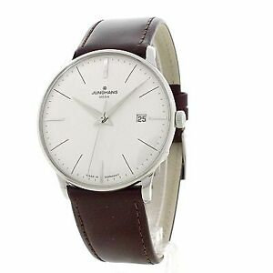 Junghans Meister Mega Radio-controlled Movement White Dial Men's Watch