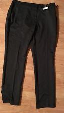 "BNWT New Tesco Floence & Fred F&F Black Trousers - Size 16L Waist 33.5"" / 85cm"