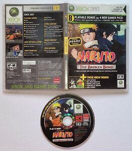 XBox 360 Demo Disc #93: Lego Batman, Naruto, Portal, Vigilante Video Games