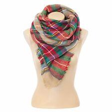 Women's Fall/Winter scarf Autumn scarf Winter scarf Oversized tartan by the bran