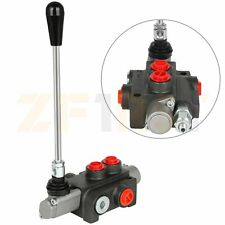 1 Spool 11 Gpm Hydraulic Directional Control Valve Double Acting Cylinder