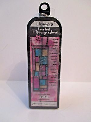 Ranger Ink Inkssentials Jewelry Frosted Memory Glass 1 X 3 Mixed Media FREE SHIP