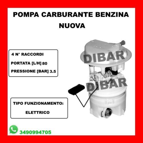 POMPA CARBURANTE PEUGEOT 206-307-406-806-807-EXPERT 1.4-1.6-2.0 DAL 1996 47