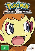POKEMON SEASON 11:Battle Dimension (6DVD) (PAL) (REGION 4) NON USA FORMAT/SEALED