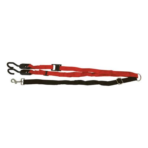 PetsTravel 4300009 Vehicle Pet Zip Line Easy Clamp Between 2 Points Using Hooks