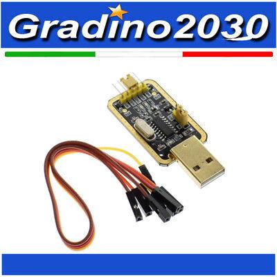 CH340 Oro Adattatore Seriale USB TTL per l/'aggiornamento del Router FTDI CP2102 PL2303 Arduino