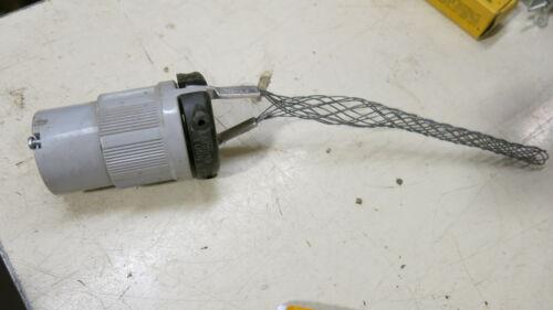Arrow Hart L6-20C 20 Amp 250 Volt 3 Wire Twistlock Connector with Strain Relief
