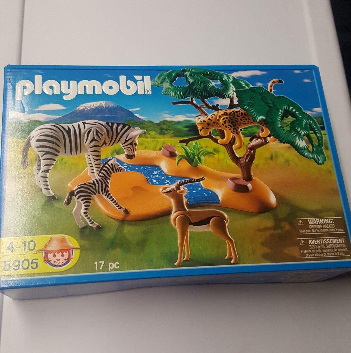 NEW PLAYMOBIL African Safari Set Set Set 5905  Zebras 8059d1