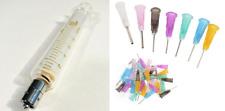 10 Ml Cc Glass Syringe Luer Lock Tip To Slip Tip Blunt Dispensing Needles Usa
