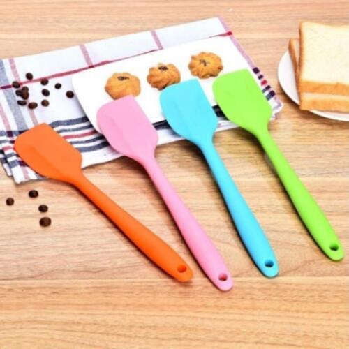 Silicone Spatula Scraper Baking Cooking Mixer Kitchen Utensil Tool Cake DS