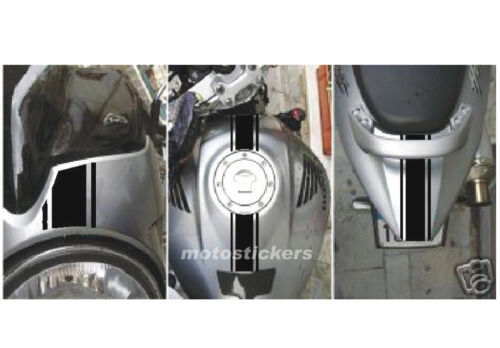 Honda Hornet 600 racing decals Band adhesive triband middle