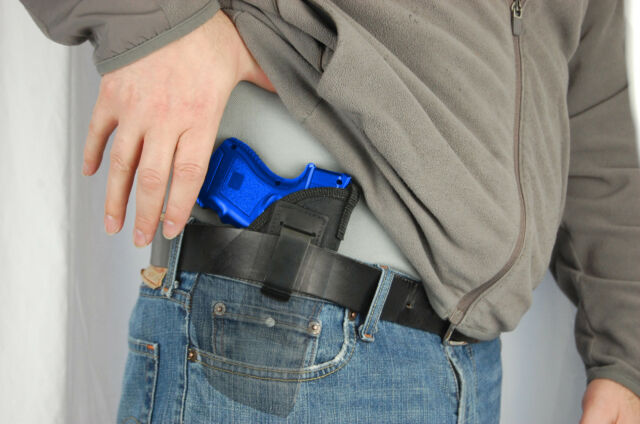 NEW Barsony Gun OWB Belt Loop Holster Springfield XD-S w// Crimson Trace LASER