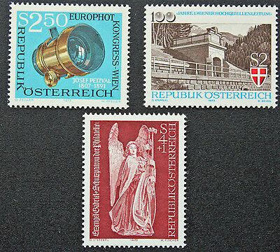 For Fast Shipping Austria Stamp cyn5 Yvert And N Tellier°1257-1258 Et 1263 N Stamp Austria