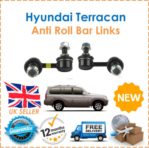 For Hyundai Terracan 2001-2006 Front Anti Roll Bar Drop Links NEW OE Quality
