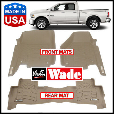 Wade 72-130042 Sure-Fit Front Floor Mat Westin