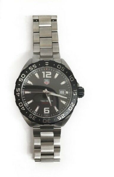TAG Heuer Formula1 200m QZ WAZ1110 Metal band men's watch