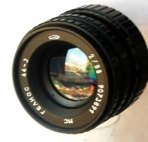 Seltene-MC-Helios-44-3-fast-Portrait-lens-2-58-m42-fuer-Pentax-2-Caps-Softcase