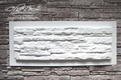 • 72 plastic molds *CALIBRA* for concrete veneer wall stone stackstone tiles DIY