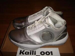 5c8652ec024312 Image is loading Nike-Air-Jordan-2010-Size-11-White-Silver-