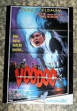 VOODOO * Feldman, Edwards - VIDEO-POSTER - German 1-Sheet Poster ´95 HORROR