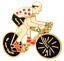 Tour-De-France-Gepunktet-Trikot-Rad-Rennen-King-Of-Mountain-Pin-Abzeichen Indexbild 1