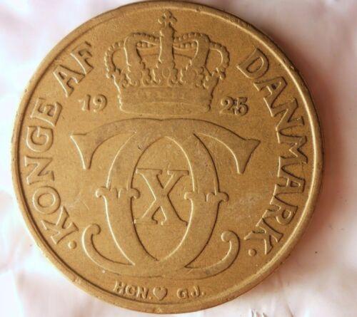 1925 DENMARK 2 KRONER Denmark Bin B Rare Collectible Series FREE SHIPPING