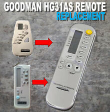 McQuay Goodman AC Air Conditioner Remote Control HG31AS