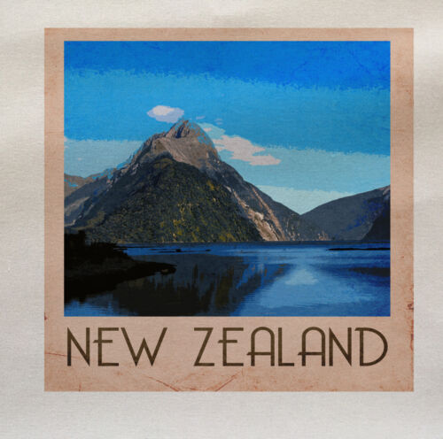 New Zealand Printed On Fabric Panel Make A Cushion Upholstery Craft
