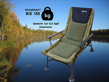 Karpfenstuhl Camping Angelstuhl CarpOn aluminium Carp Chair Camping