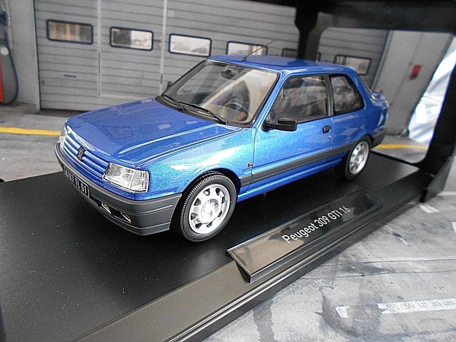 Peugeot 309 GTI 16 gti16 16v bluee Miami 1991 NOREV NEW 1 18