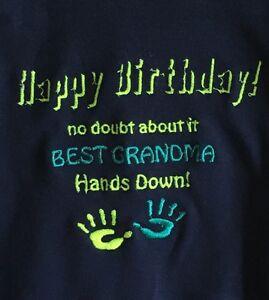 Image Is Loading Personalised Baby Vest Grow Outfit Keepsake Happy Birthday