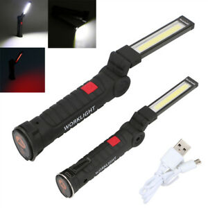 Rechargeable-COB-LED-Magnetic-Work-Light-Car-Garage-Mechanic-Hanging-Torch-Lamp